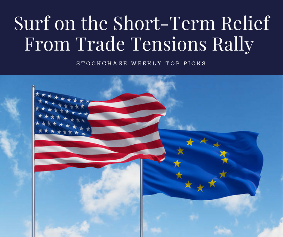 Surf on the Short Term Relief From Trade Tensions Rally